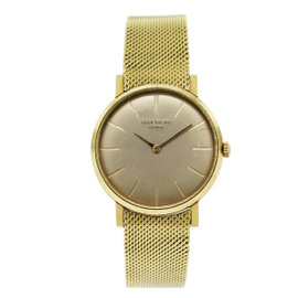 Patek Philippe 3421 18K Yellow Gold 32mm Mens Watch