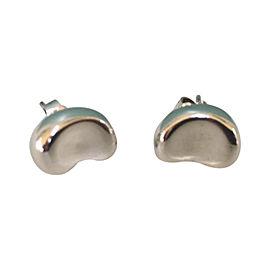 Tiffany & Co. Elsa Peretti Bean Sterling Silver Earrings