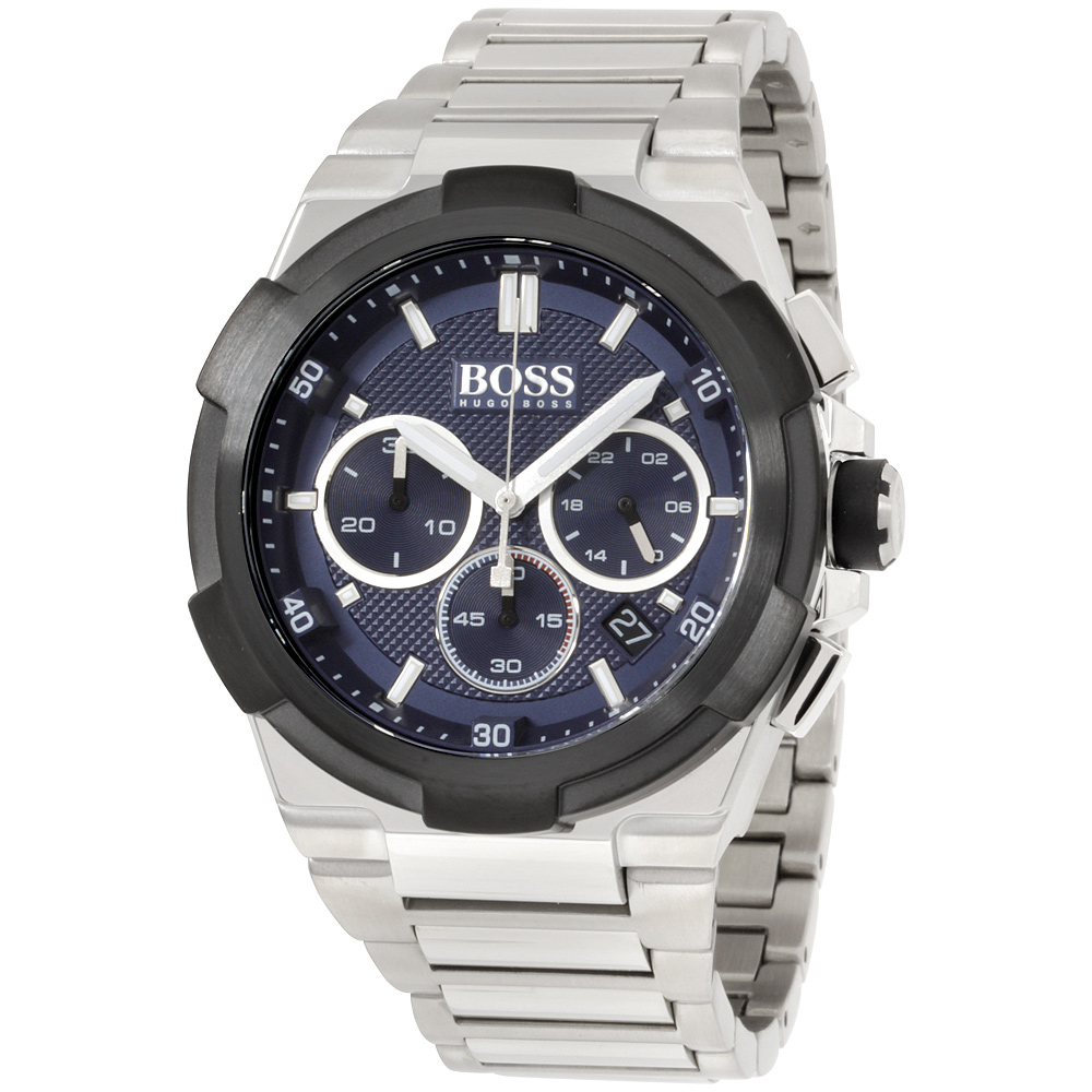 "Image of ""Hugo Boss 1513360 Stainless Steel Quartz 45mm Mens Watch"""