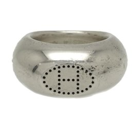 Hermes 925 Sterling Silver Ring Size 3.75