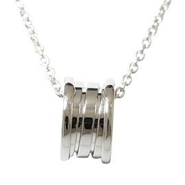 Bulgari 18K White Gold B.zero1 Necklace