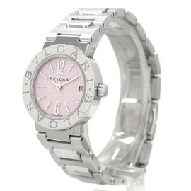 Bulgari Stainless Steel 23mm Watch