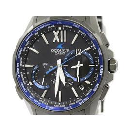 Casio Oceanus Manta OCW-S3400 Titanium Solar 44mm Mens Watch