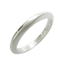 Cartier Platinium Declaration Band Ring Size 4.75