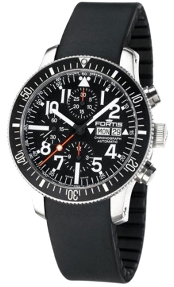 "Image of ""Fortis 638.10.41R B-42 Marinemaster Stainless Steel Chronograph 42mm"""