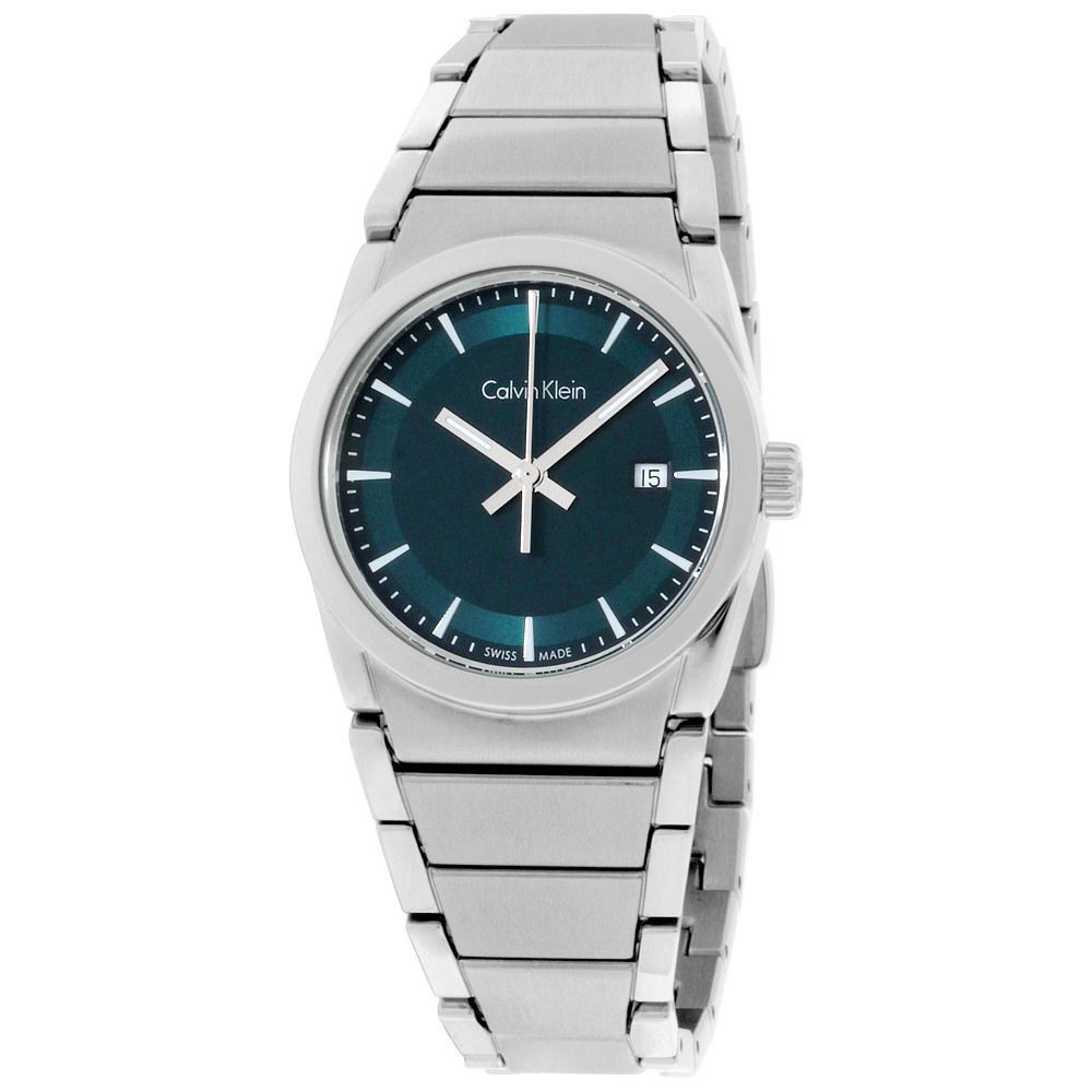 "Image of ""Calvin Klein Damenuhr K6K3314L Stainless Steel Green Dial 30mm Womens"""