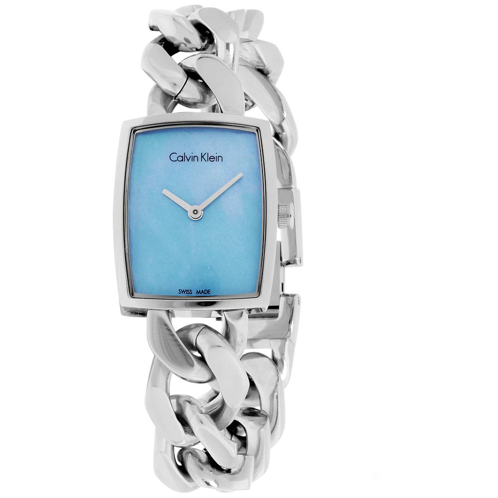"Image of ""Calvin Klein CK Amaze K5D2M12N Stainless Steel Chain Bracelet 21mm"""
