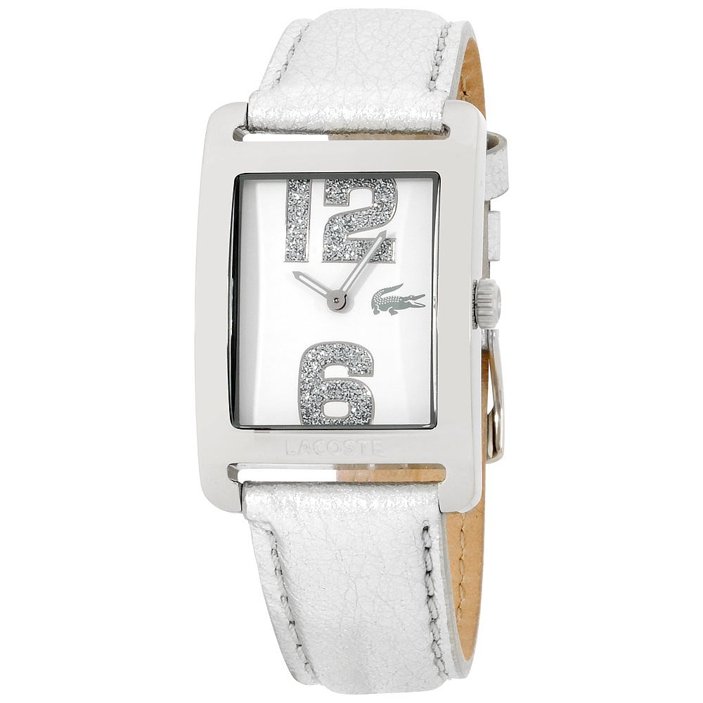 "Image of ""Lacoste 2000652 Stainless Steel Leather Quartz 27mm Womens Watch"""