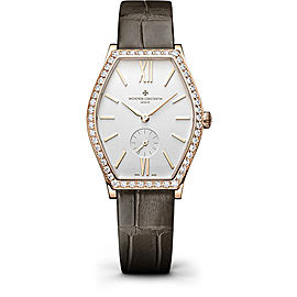 Vacheron Constantin Malte 81515/000R-9892 18K Pink Gold with Silver Dial 38.67mm Womens Watch