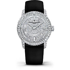 Vacheron Constantin Traditionnelle 81760/000G-9862 18K White Gold with Diamond Dial 35mm Womens Watch