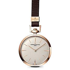 Vacheron Constantin Patrimony 82028/000R-9708 18K Pink Gold 43mm Mens Pocket Watch