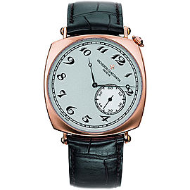 Vacheron Constantin Historiques 82035000R-9359 18K Rose Gold with Silver Dial 40mm Mens Watch