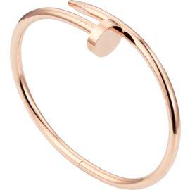 Cartier Juste Un Clou 18K Rose Gold Bracelet Size 19