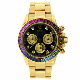 Rolex Cosmograph Daytona with Colored Sapphires