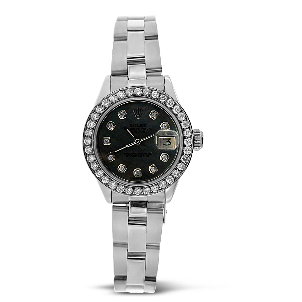 "Image of ""Stainless Steel Oyster Perpetual Datejust Rolex"""
