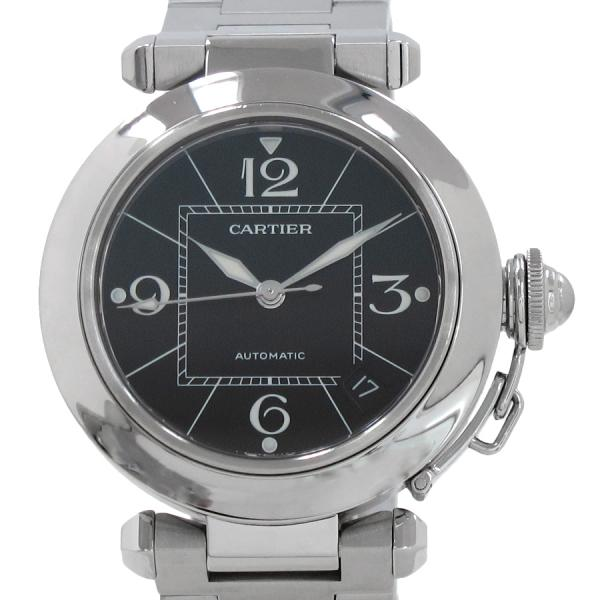 "Image of ""Cartier Pasha C W31076M7 Stainless Steel Automatic 35mm Mens Watch"""