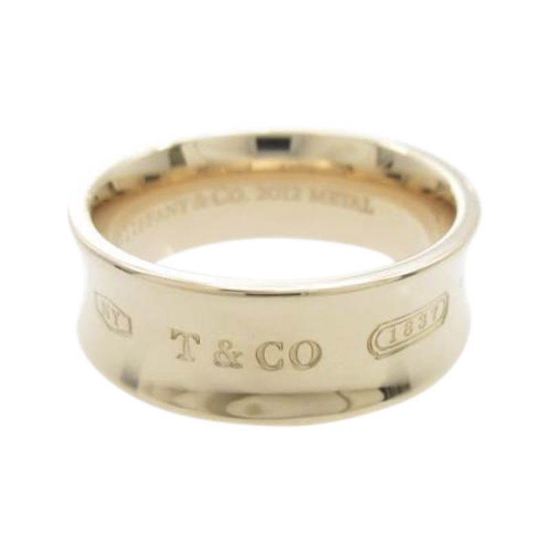 "Image of ""Tiffany & Co. Rubedo Metal 1837 Ring Size 5.75"""