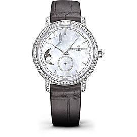 Vacheron Constantin Traditionnelle 83570/000G-9916 18K White Gold with Mother of Pearl Dial 36mm Womens Watch