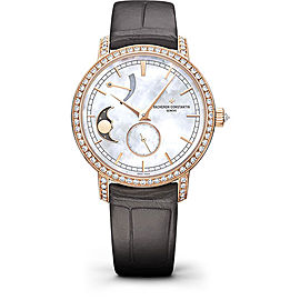 Vacheron Constantin Traditionnelle 83570/000R-9915 18K Pink Gold with Mother of Pearl Dial 36mm Womens Watch