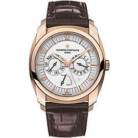 Vacheron Constantin Quai De L'ile 85050/000R-I0P29 18K Rose Gold with Silver Dial 41mm Mens Watch
