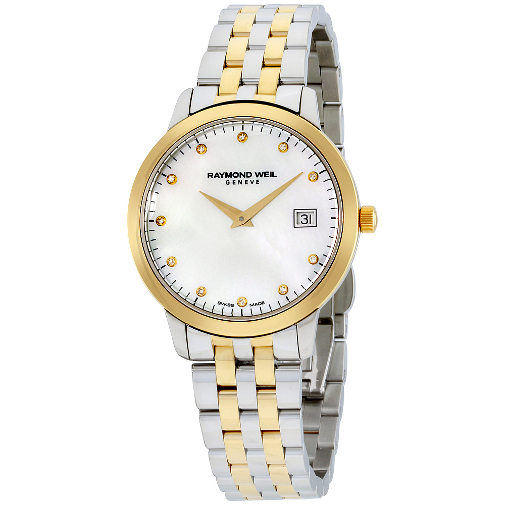 """Image of """"Raymond Weil Toccata 5388Stp97081 Gold Tone Stainless Steel Quartz"""""""