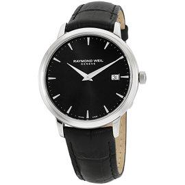 Raymond Weil Tocatta 5488STC20001 Stainless Steel & Leather Quartz 39mm Mens Watch