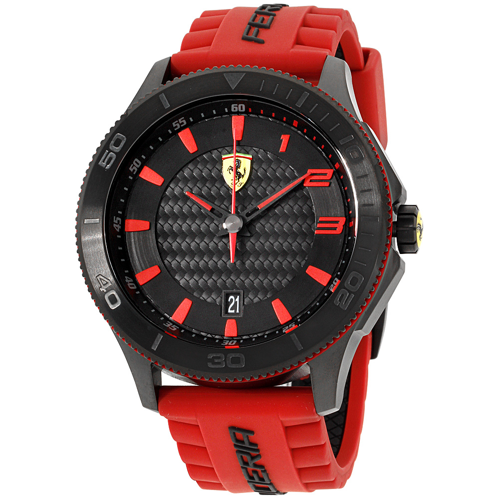 "Image of ""Ferrari 0830136 Stainless Steel 48mm Mens Watch"""