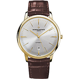 Vacheron Constantin Patrimony 85180/000J-9231 18K Yellow Gold with Opaline Dial Automatic 40mm Mens Watch