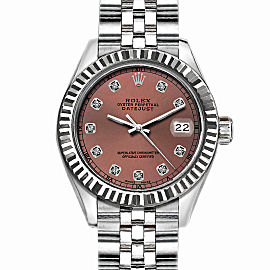 Rolex Datejust Stainless Steel with Brown Dial 36mm Mens Watch