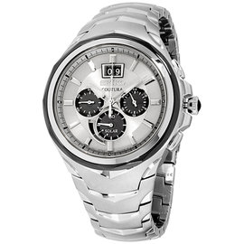Seiko Coutura SSC627 Stainless Steel with Silver Dial 46mm Mens Watch