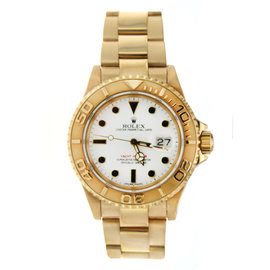 Yellow Gold Rolex YachtMaster