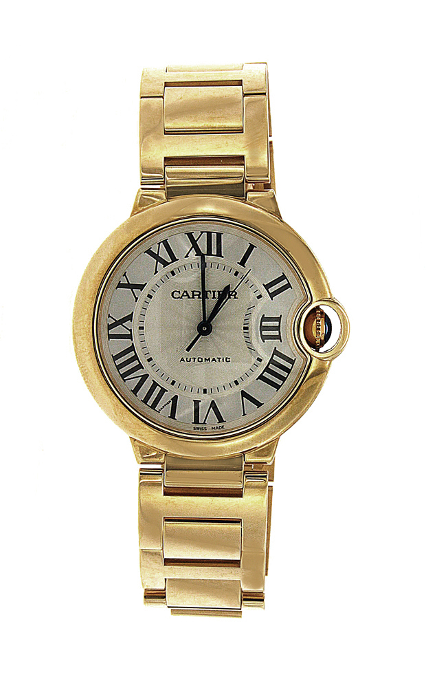 Yellow Gold Large Cartier Ballon Bleu
