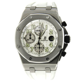 Audemars Piguet Royal Oak Offshore with White Rubber Strap