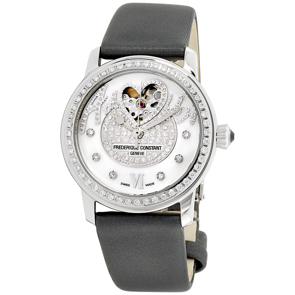 """Image of """"Frederique Constant Fc310Sqpv2Pd6 Heart Beat Stainless Steel White"""""""