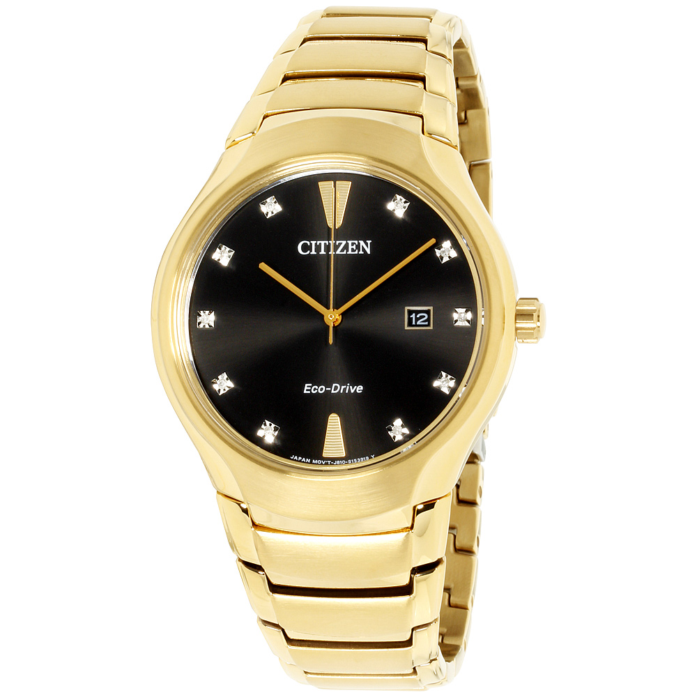 "Image of ""Citizen Aw155254E Gold Tone Stainless Steel 40mm Mens Watch"""