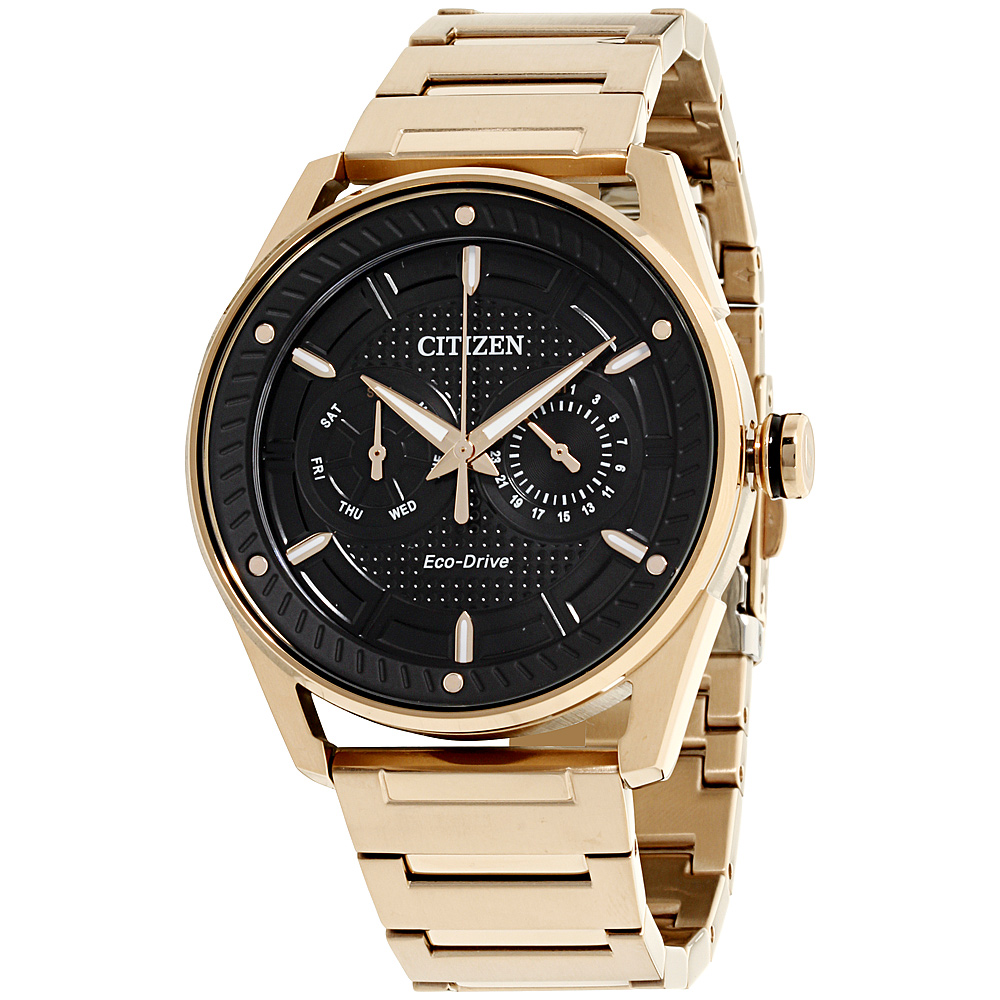 """Image of """"Citizen Bu402354E Black Ion-Plated Stainless Steel 42mm Mens Watch"""""""
