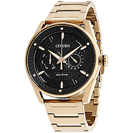 Citizen BU402354E Black Ion-Plated Stainless Steel 42mm Mens Watch