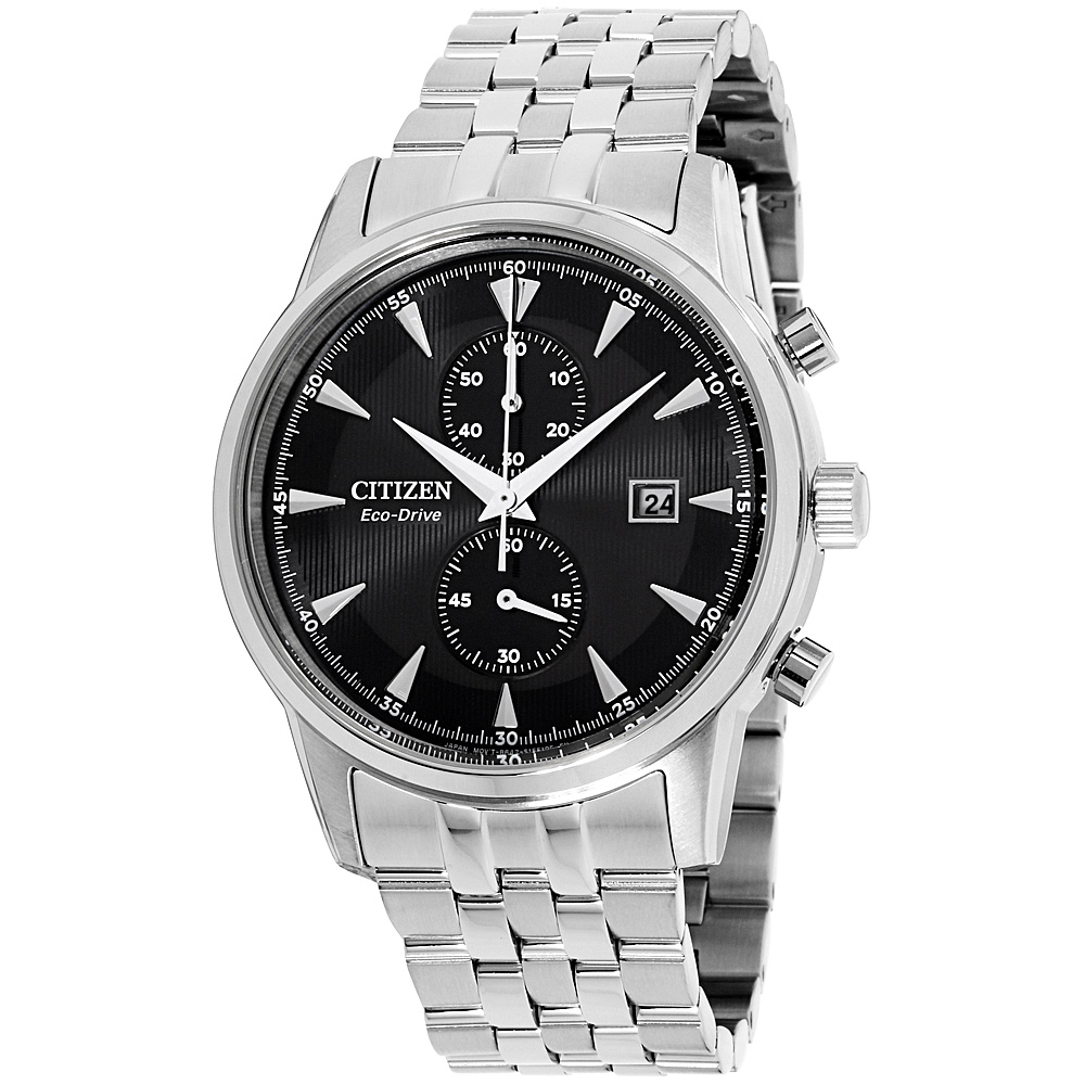 """Image of """"Citizen Corso Ca7000-55E Stainless Steel with Black Dial 43mm Mens"""""""