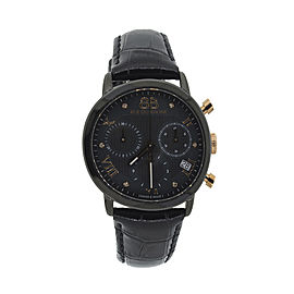 Rue Du Rhone Black Dial 87WA130005 Watch