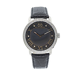 Rue Du Rhone Black Dial 87WA130030 Watch
