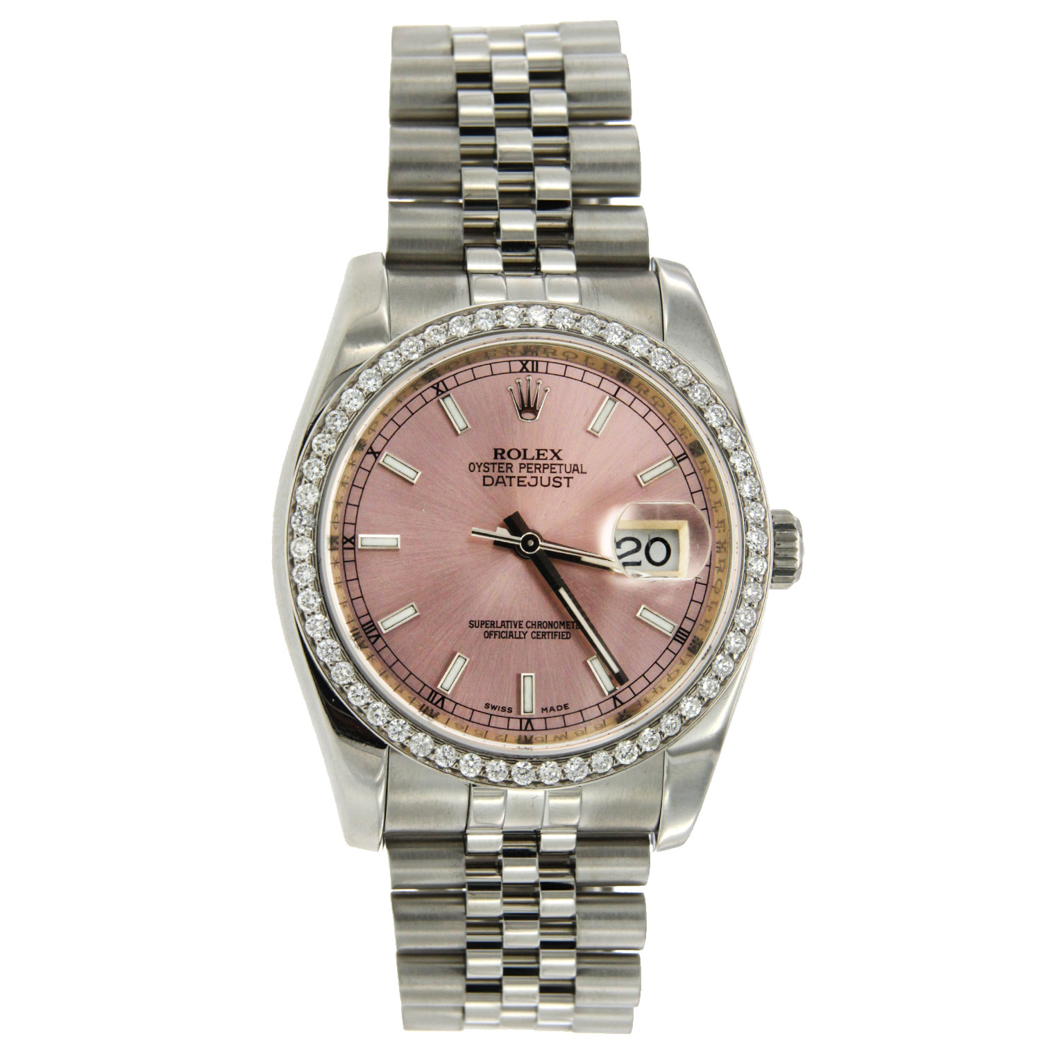 """Image of """"Stainless Steel Rolex Oyster Perpetual Datejust"""""""