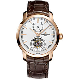 Vacheron Constantin Traditionnelle 89000/000R-9655 18K Rose Gold with Opaline Dial 42mm Mens Watch