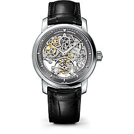 Vacheron Constantin Traditionnelle 89010/000P-9935 Platinum with Skeleton Dial 42mm Mens Watch