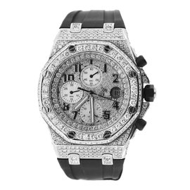 Audemars Piguet Royal Oak Offshore with Diamond Dial and Bezel