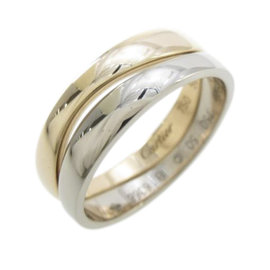 Cartier 18K Pink And Yellow Gold Love Me Ring Size 5.25