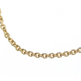 Bulgari 18K Pink Gold Chain Necklace