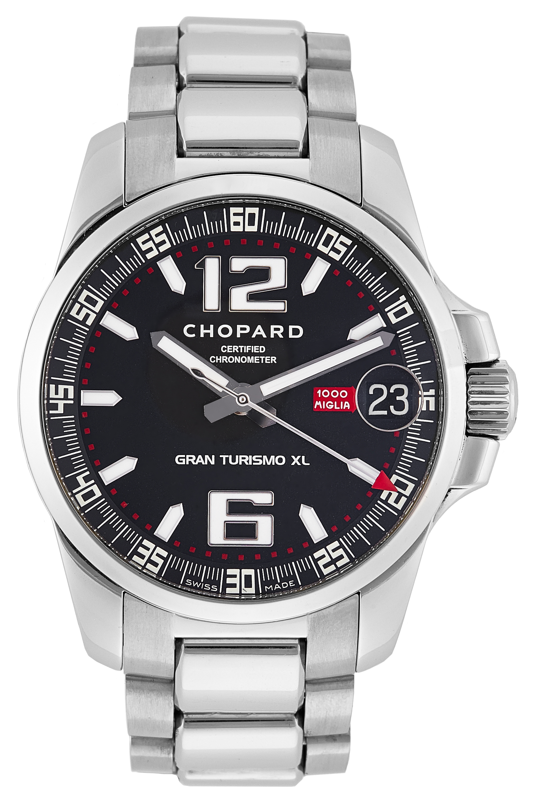 "Image of ""Chopard Mille Miglia Stainless Steel 44mm Mens Watch"""