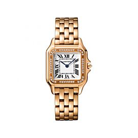 Cartier Panthere de WJPN0009 18K White Gold 27mm Womens Watch
