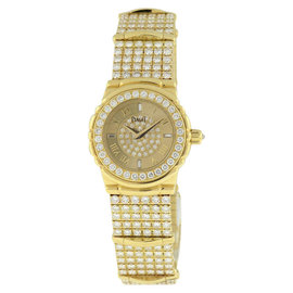 Piaget Classique 18K Yellow Gold & Diamond 25mm Watch