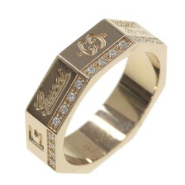 Gucci 18K Rose Gold Ring Size 4.5